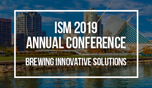 ISM 2019 Milwaukee WI September 22 - 25
